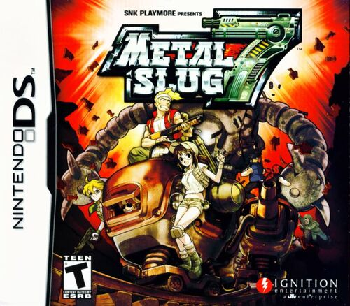 Cover for Metal Slug 7.