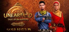 Cover for Unearthed: Trail of Ibn Battuta.