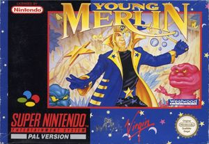 Cover for Young Merlin.