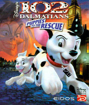 Cover for 102 Dalmatians: Puppies to the Rescue.