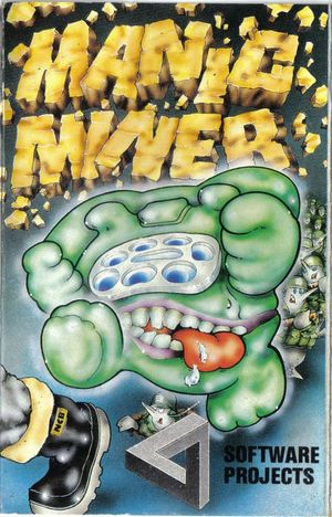 Cover for Manic Miner.