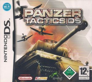 Cover for Panzer Tactics DS.