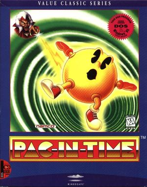 Cover for Pac-In-Time.