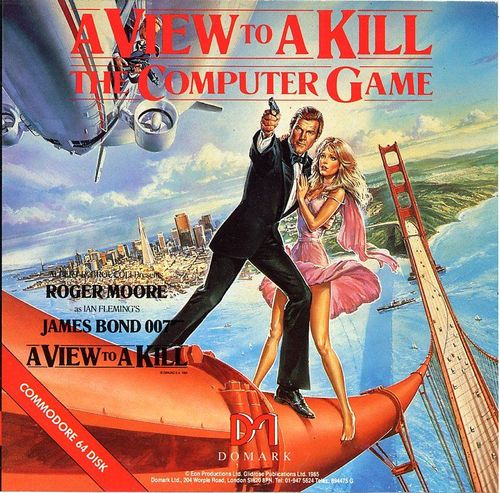 Cover for A View to a Kill.