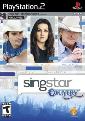 Cover for SingStar Country.