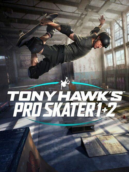 Cover for Tony Hawk's Pro Skater 1 + 2.