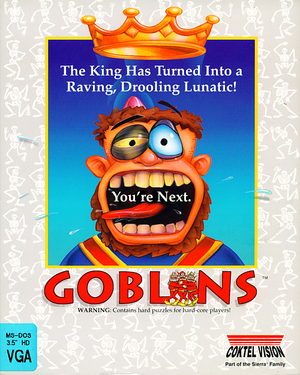 Cover for Gobliiins.