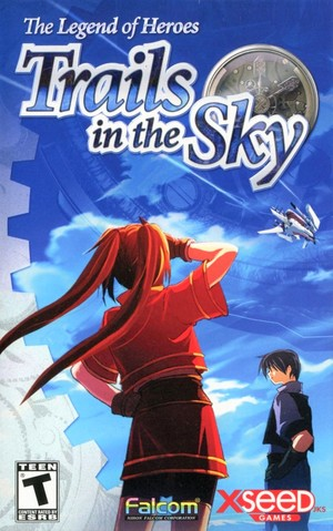 Cover for The Legend of Heroes: Trails in the Sky.