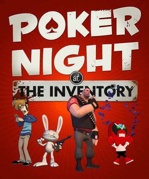 Cover for Poker Night at the Inventory.