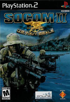 Cover for SOCOM II: U.S. Navy SEALs.