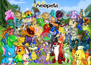 Cover for Neopets.