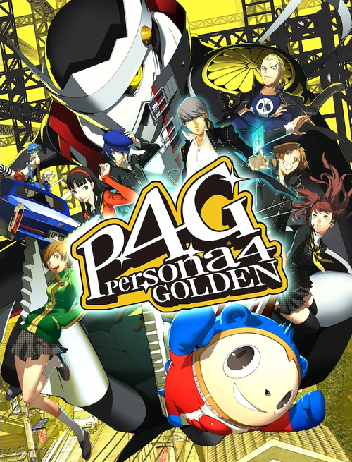 Cover for Persona 4: Golden.