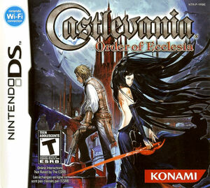 Cover for Castlevania: Order of Ecclesia.