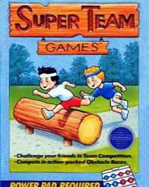 Cover for Super Team Games.