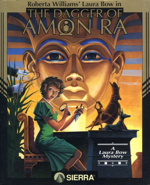 Cover for The Dagger of Amon Ra.
