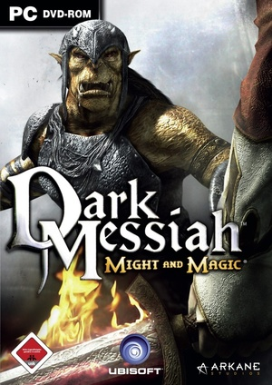 Cover for Dark Messiah of Might and Magic.