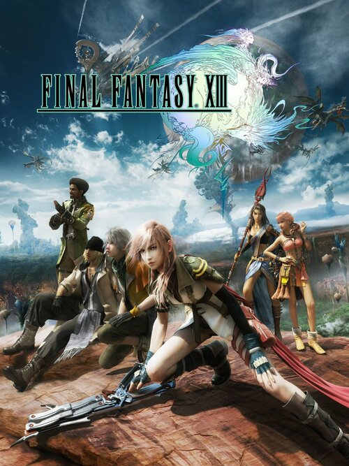 Cover for Final Fantasy XIII.