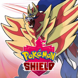 Cover for Pokémon Shield.