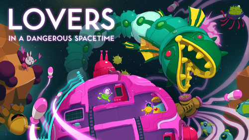 Cover for Lovers in a Dangerous Spacetime.
