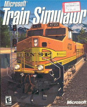 Cover for Microsoft Train Simulator.