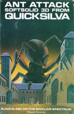 Cover for Ant Attack.