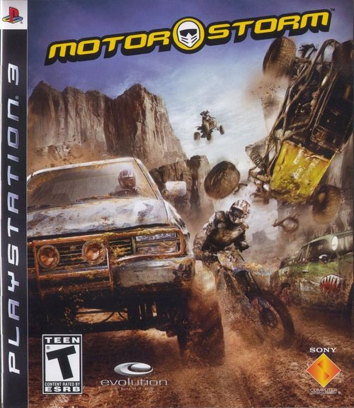 Cover for MotorStorm.