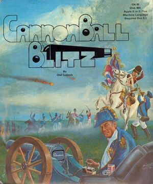 Cover for Cannonball Blitz.