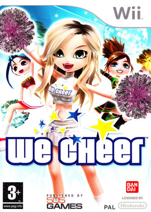Cover for We Cheer.