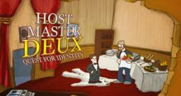 Cover for Host Master Deux: Quest for Identity.