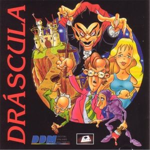 Cover for Dráscula: The Vampire Strikes Back.