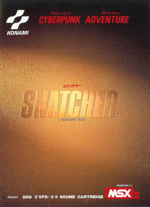 Cover for Snatcher.