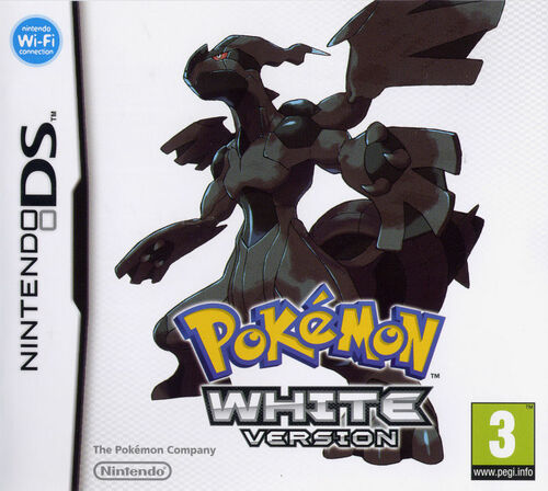 Cover for Pokémon White.