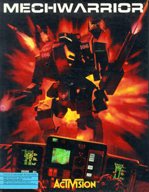 Cover for MechWarrior.