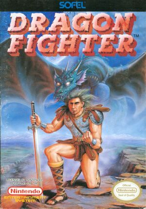 Cover for Dragon Fighter.