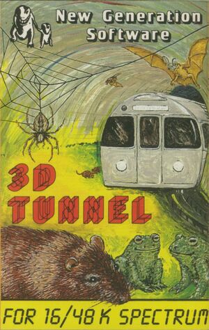 Cover for 3D Tunnel.