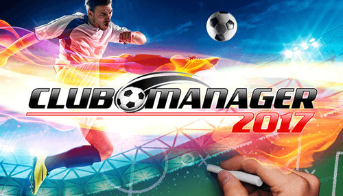 Cover for Club Manager 2017.