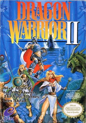 Cover for Dragon Warrior II.
