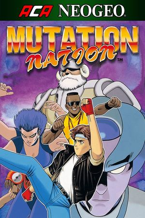 Cover for Mutation Nation.