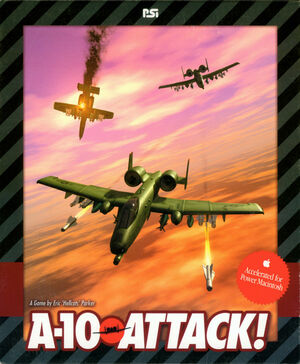 Cover for A-10 Attack!.