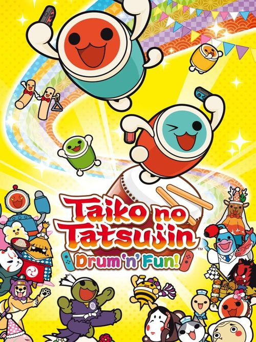 Cover for Taiko no Tatsujin: Drum 'n' Fun!.