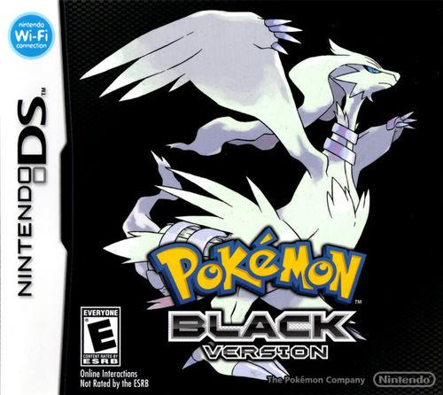 Cover for Pokémon Black.