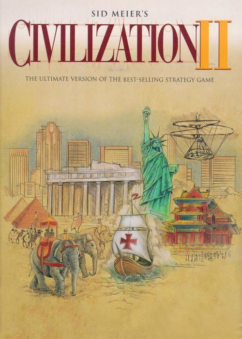 Cover for Civilization II.