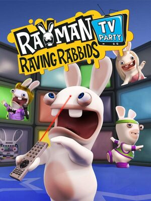 Cover for Rayman Raving Rabbids: TV Party.