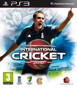 Cover for International Cricket 2010.