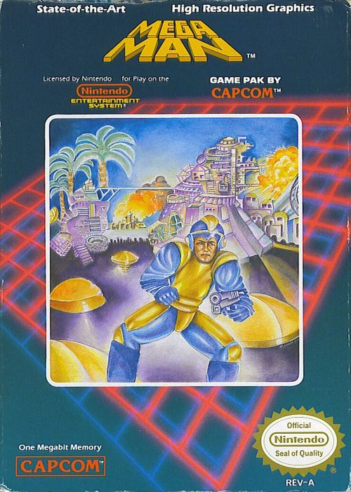 Cover for Mega Man.