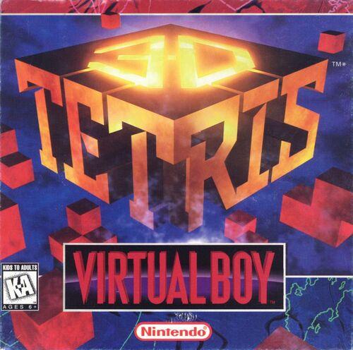 Cover for 3D Tetris.