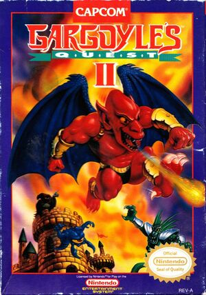 Cover for Gargoyle's Quest II.