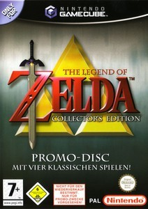 Cover for The Legend of Zelda: Collector's Edition.