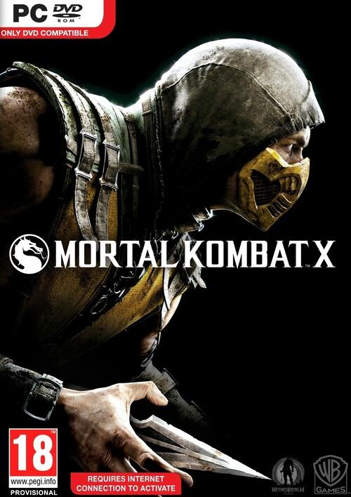 Cover for Mortal Kombat X.