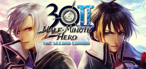 Cover for Half-Minute Hero: The Second Coming.